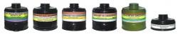 Фильтр ДОТ 600 для противгазов среднего габарита марки А2В3Е3Р3D; А2В2Е2К2Р3D; А2В3Е3АХР3D; К3Р3D