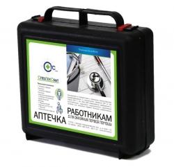 Аптечка для оказания первой помощи работникам (приказ № 169н от 05.03.2011г.) пластиковый чемодан