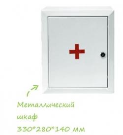 Аптечка для оказания первой помощи работникам (приказ № 169н от 05.03.2011г.) металл. шкаф